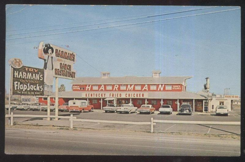 Harman's Ranch Postcard