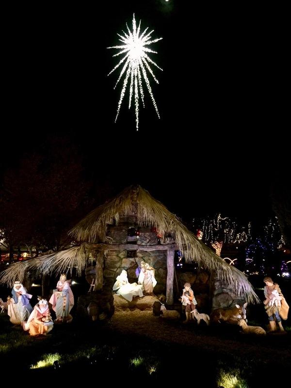 Nativity display at the Visitors' Center