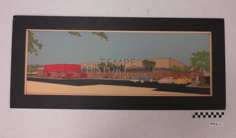 Rio Salado Proposed Ice Rink Building Illustration