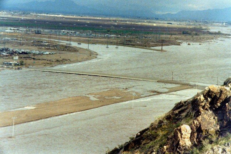 Flooded Salt River