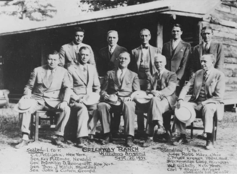 Carl Hayden & Franklin D. Roosevelt