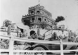 Tovrea Castle Under Construction, 1929