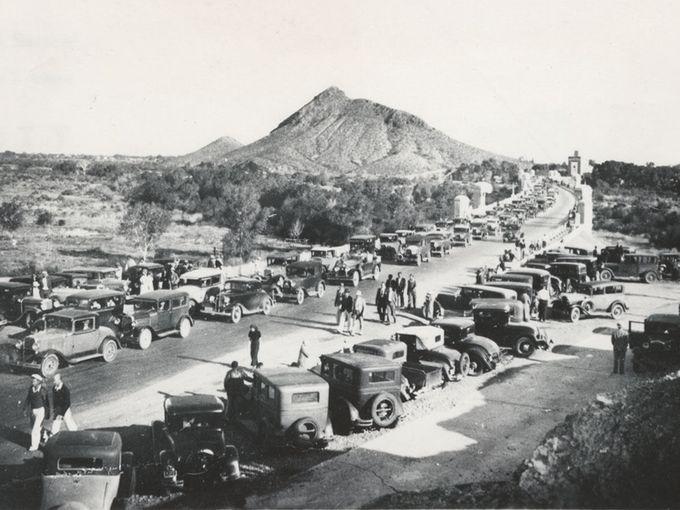 Dedication of Mill Avenue Bridge