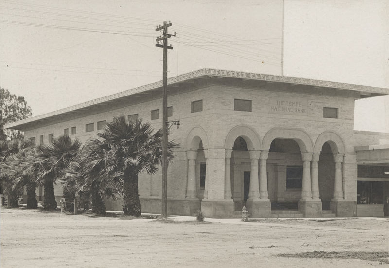 Tempe National Bank, ca. 1912