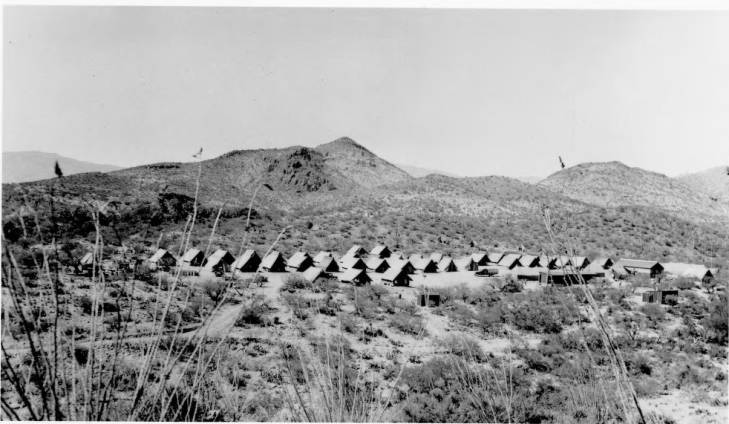 Colossal Cave CCC Camp