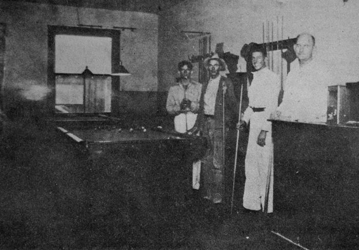 Billiard players in Scottsdale