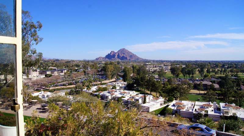 Camelback from Wrigley Mansion