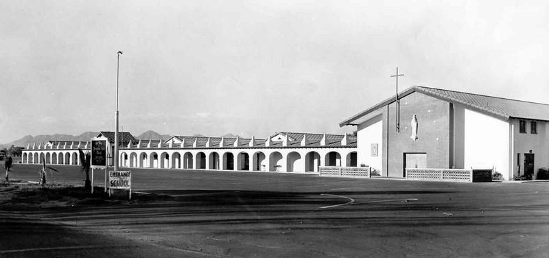 Church and School, 1950s
