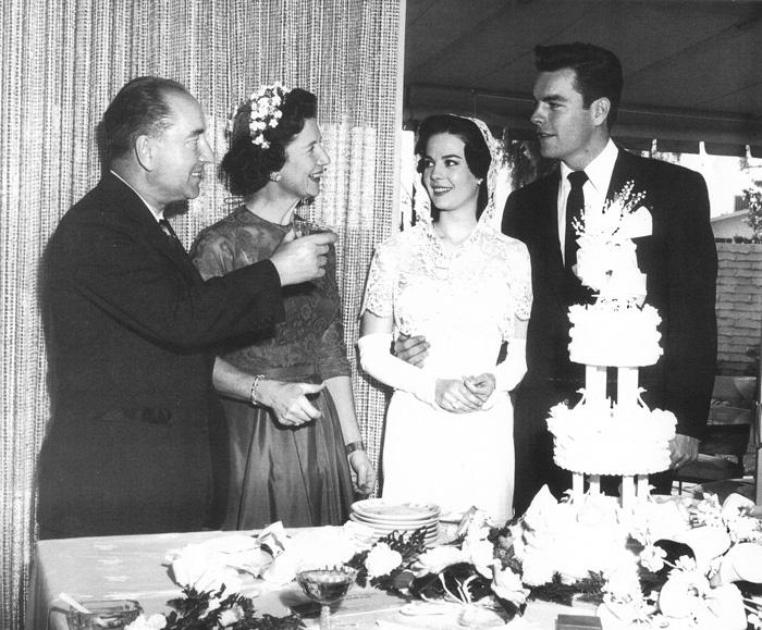 Robert Wagner & Natalie Wood, 1957