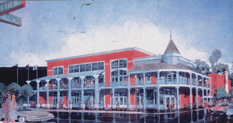 Architectural Rendering of the Laird & Dines Building, Date Unknown