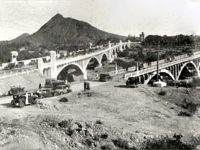 Mill Avenue Bridge on Dedication Day
