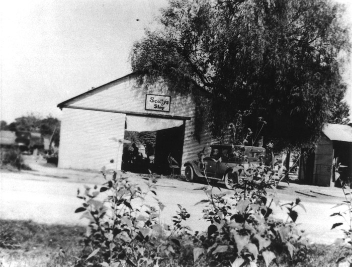 Scotty's Blacksmith Shop, 1930s