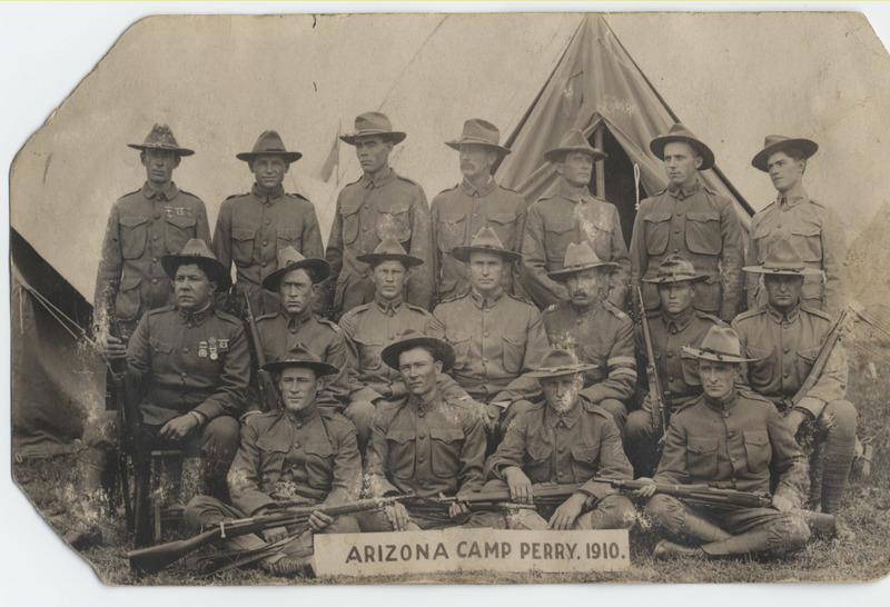 Arizona National Guard Marksmen at Camp Perry