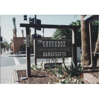 Chuckbox Sign