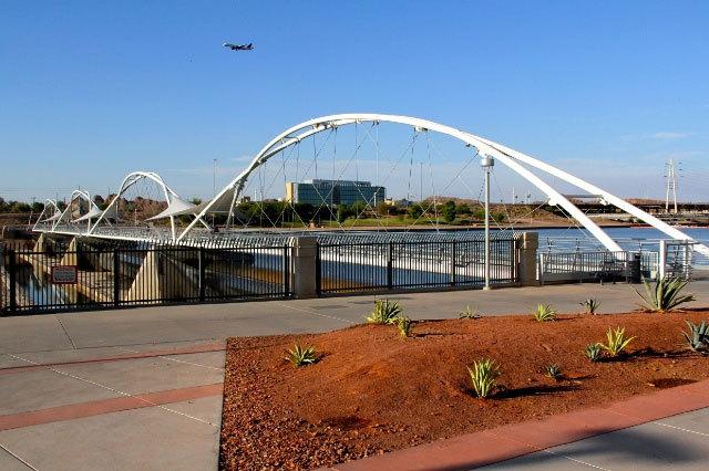 The Downstream Pedestrian Bridge
