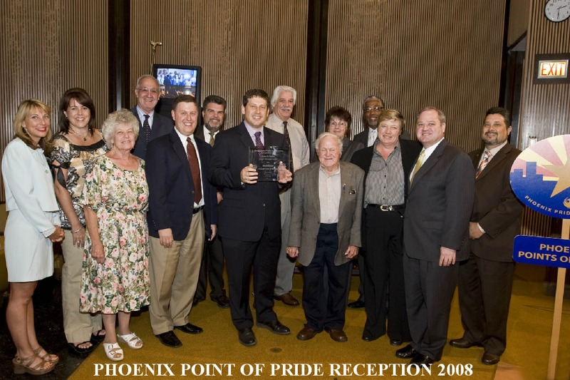The Phoenix Point of Pride Reception 2008