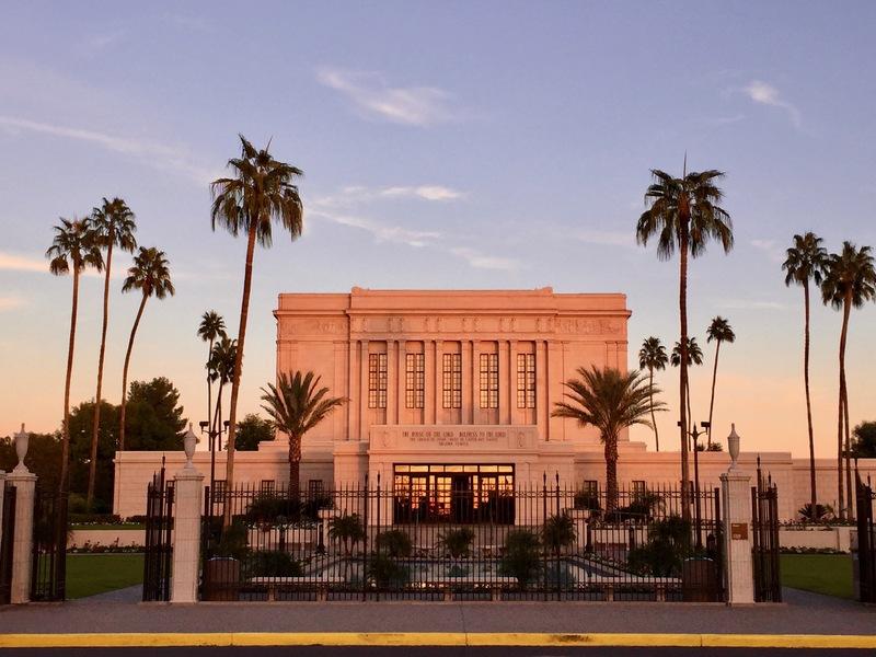 Mesa Arizona Temple Today