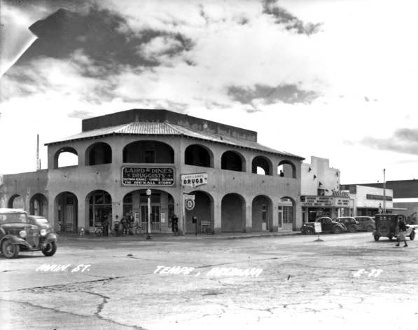 Laird & Dines Drugstore c. 1935