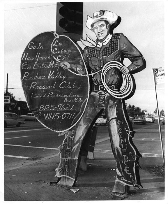 Welcoming Cowboy