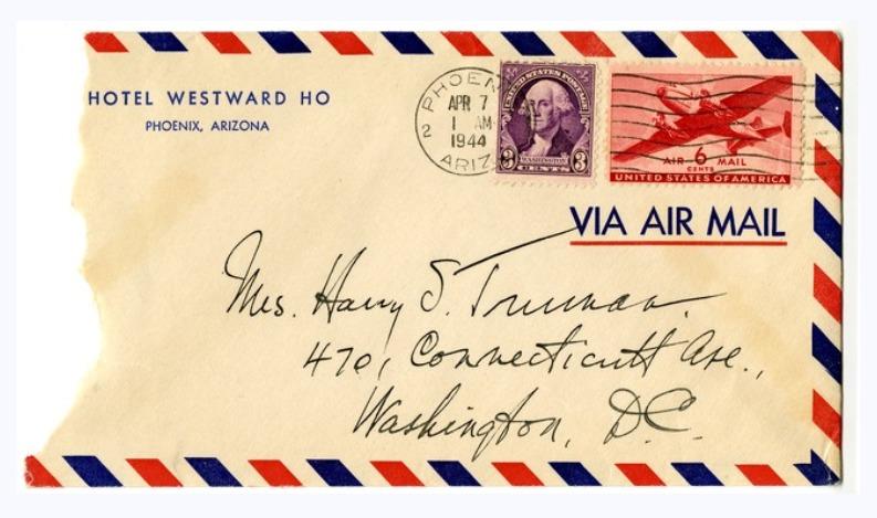 Harry S. Truman letter