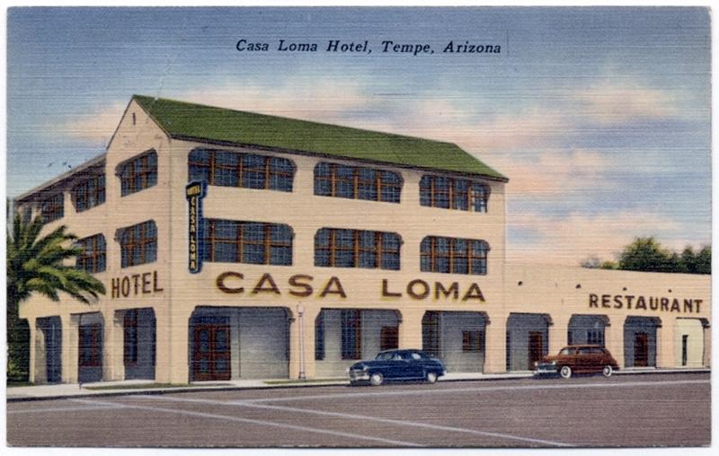 Casa Loma Hotel Postcard, ca. 1949