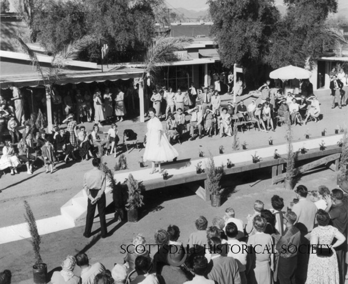 Fifth Avenue Fashion Show, ca. 1957