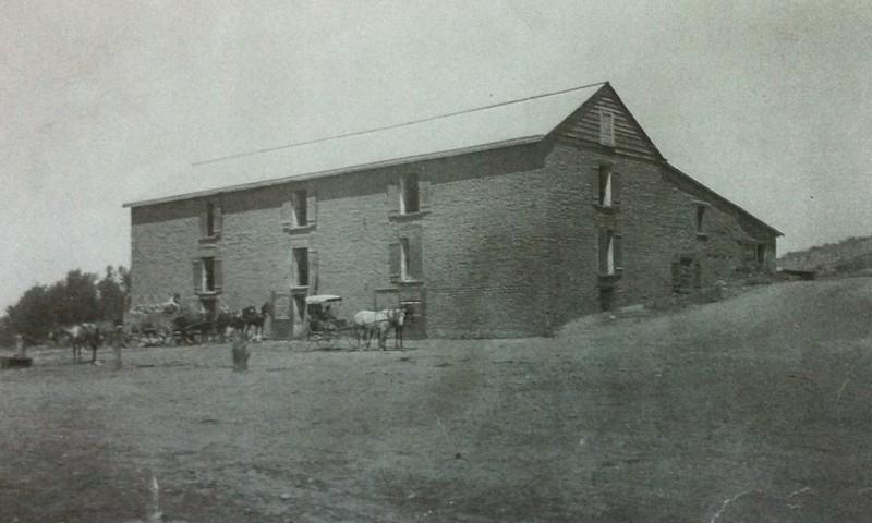 Hayden Flour Mill, ca. 1880.