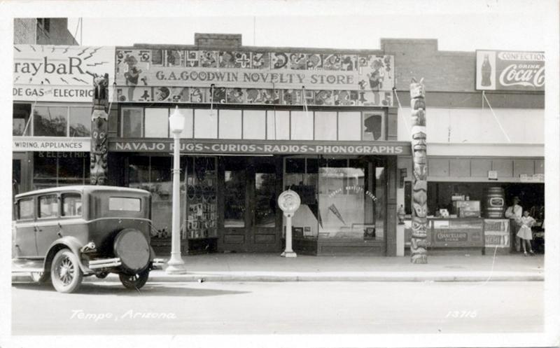 Goodwin Novelty Store, ca. 1930