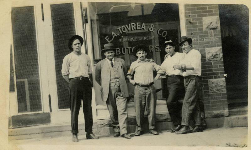 E. A. Tovrea Butcher Shop