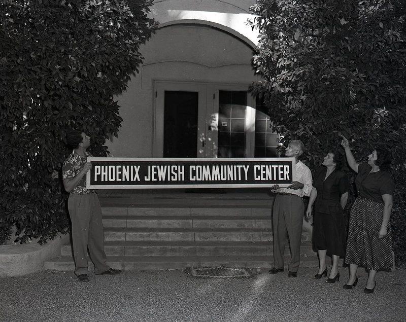 Sign Installation at New Phoenix Jewish Community Center