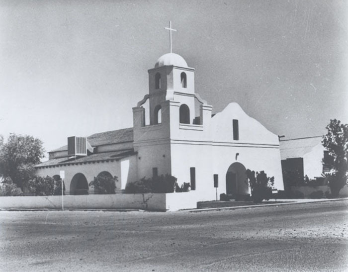 Old Mission Church, 1950.