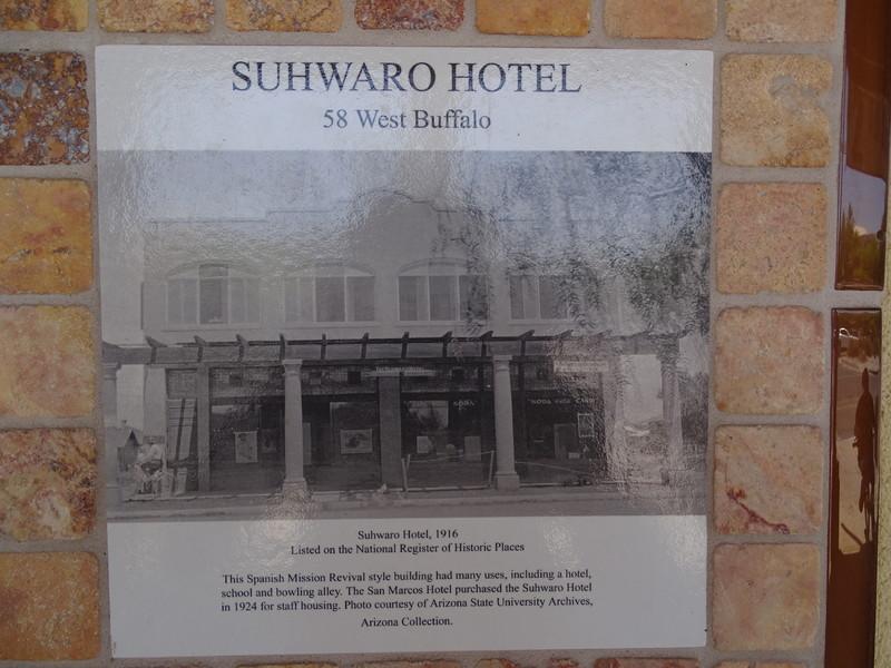 Suhwaro Hotel- Historical Notice