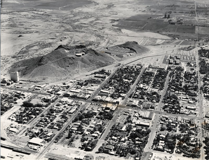 Eastern Aerial View of Tempe in 1959
