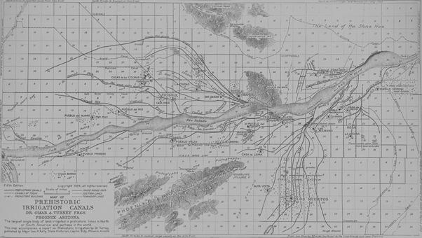 Prehistoric Irrigation Canals