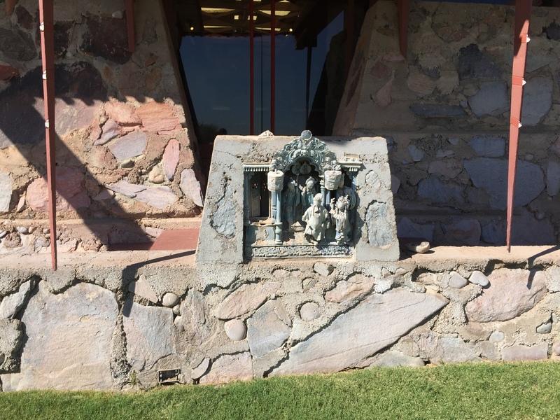 Taliesin West- Statue